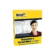 Wasp WaspLabeler Barcode Maker for Office