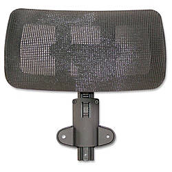 Lorell Multifunction Mesh High Back Headrest