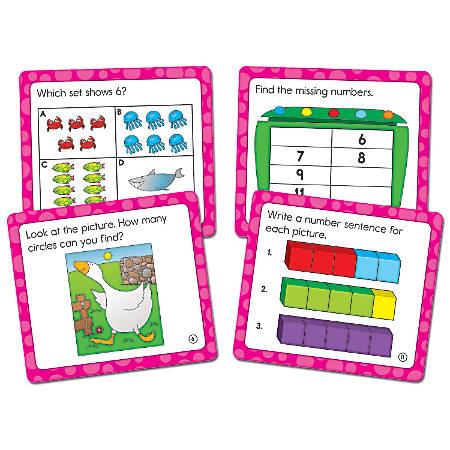 """Carson-Dellosa Math Challenge Curriculum Cut-Outs, 5"""" x 5 1/2"""", Multicolor, Grade K"""