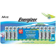 Energizer Eco Advanced AA Alkaline Batteries