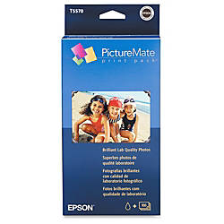 Epson T5570 Picturemate Print Pack Multicolor Ink Cartridge And 100