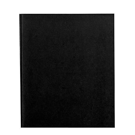 Office Depot® Brand School-Grade 3-Prong Paper Folder, Letter Size, Black