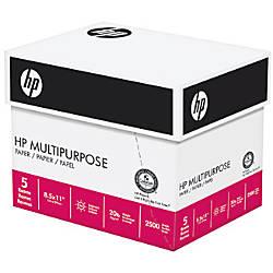 HP Multipurpose Paper 96 Bright 2500