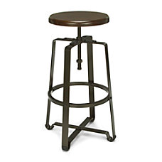 OFM Endure Series Tall Stool WalnutDark