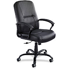 Safco Serenity Big Tall Leather Chair