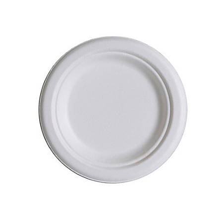 """Eco-Products® Sugarcane Plates, 6"""", Pack Of 50"""