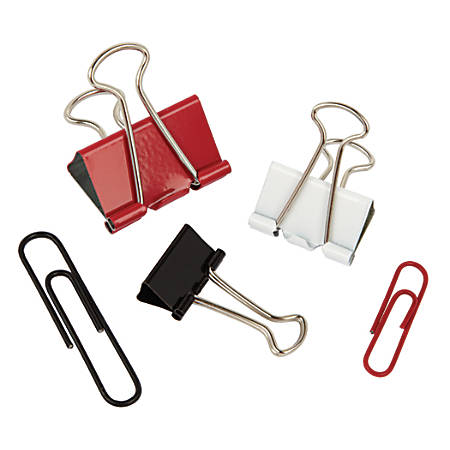 Office Depot® Brand Clip Kit, Assorted Colors, Pack Of 168