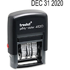 Trodat 4820 Self Inking Stamp Date