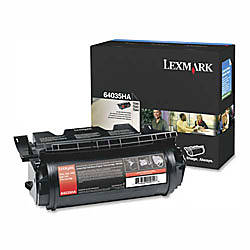 Lexmark 64035HA High Yield Black Toner