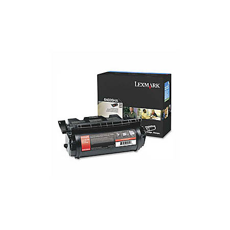 Lexmark™ 64035HA High-Yield Black Toner Cartridge