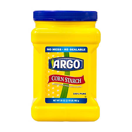ARGO Corn Starch, 35 Oz Container
