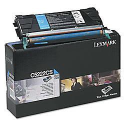 Lexmark C5222CS Cyan Toner Cartridge