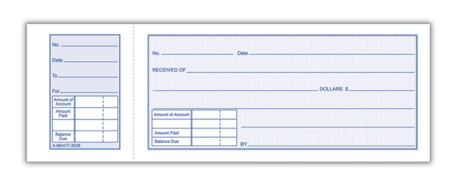 Mouse Over To Zoom  Money Receipts