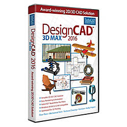 DesignCAD 3D Max 2016 Download Version