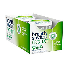 Breath Savers Protect Mints Spearmint 088