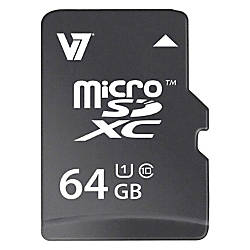 V7 VAMSDX64GUHS1R 2N 64 GB microSDXC