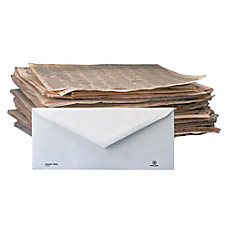 Stride Inc 100percent Recycled Business Envelopes