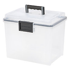 IRIS Weather Tight Mobile File Box