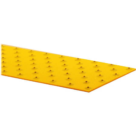 "GripAll XtremeGrip Anti-Slip Adhesive Strip, 5"" x 2', Yellow"