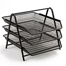 Mind Reader 3 Tier Steel Mesh