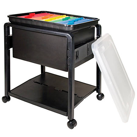 "Innovative Storage SpaceMaker™ Fold 'N Roll™ Cart System, 21 3/4""H x 14 1/2""W x 18 1/2""D"