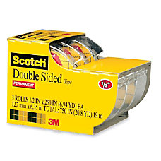 Scotch 665 Permanent Double Sided Tape