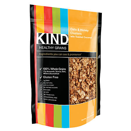 Kind Healthy Grains Oats and Honey/Toasted Coconut Clusters, 11 Oz