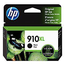 HP 910XL High Yield Original Ink