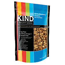 Kind Healthy Grains Vanilla BlueberryFlax Clusters
