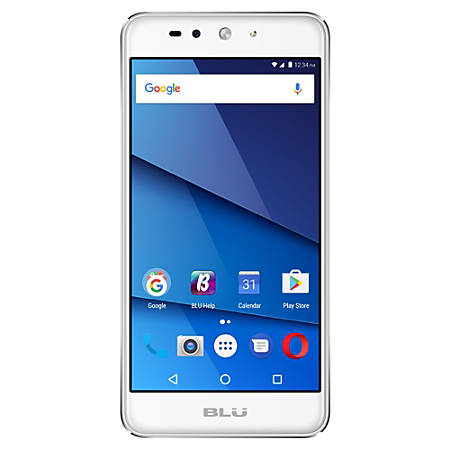 BLU Grand XL LTE G0030WW Cell Phone, Silver, PBN201324