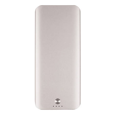 Ativa™ Ultra-Slim Power Bank, Gold, BLADE5000A-SILVER