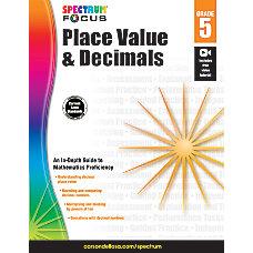 Spectrum Place Value And Decimals Workbook