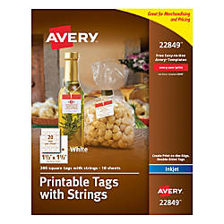 Invaluable image pertaining to avery printable tags