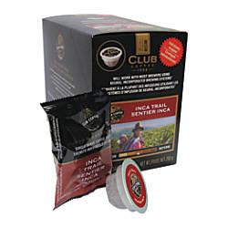 Club Coffee AromaCups Inca Trail Single