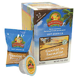 Margaritaville Coffee AromaCups Sunrise In Paradise