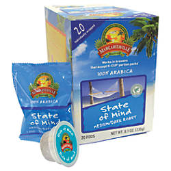 Margaritaville Coffee AromaCups State Of Mind