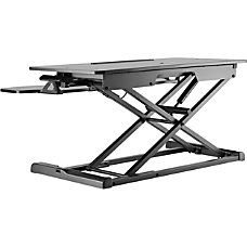 Amer Mounts Sit Stand Integrated Desk