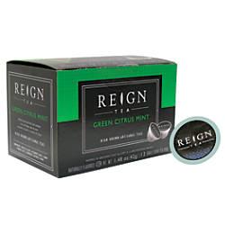 Reign Tea Aroma Cups Green Mint
