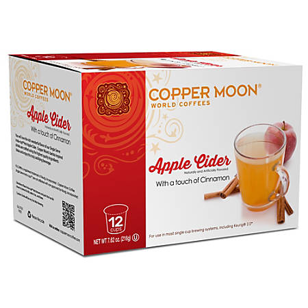 Copper Moon® Apple Cider Insta-Cups, Box Of 12