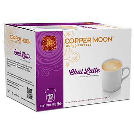 Copper Moon® Chai Latte Insta-Cups, Box Of 12