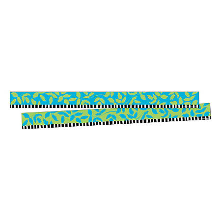 "Barker Creek Double-Sided Border Strips, 3"" x 35"", Nature's Colors, Set Of 24"
