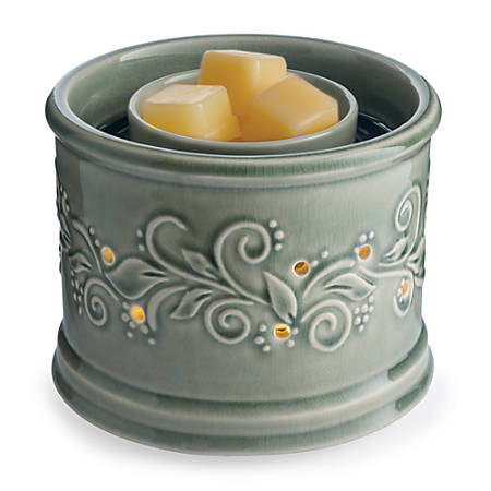 """Candle Warmers Etc Fan Fragrance Warmers, 8-5/8"""" x 7-1/8"""", Perennial, Pack Of 6 Warmers"""