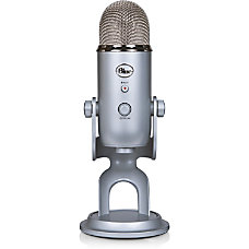 Blue Yeti USB Microphone Silver Ultimate