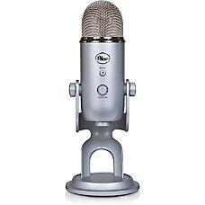 Blue Yeti USB Microphone Silver