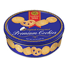 Original Gourmet Butter Cookie Tin 24
