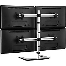 Atdec Visidec Freestanding Quad Monitor Arm