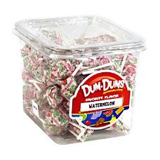 Dum Dum Lollipops Watermelon 1 Lb