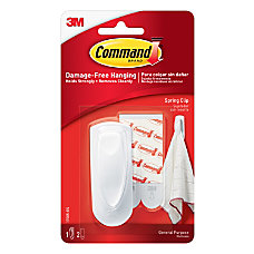 3M Command Spring Clip