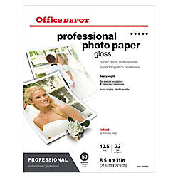 Office Depot Brand Professional Photo Paper