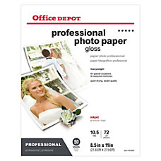 Office Depot Professional Photo Paper Glossy